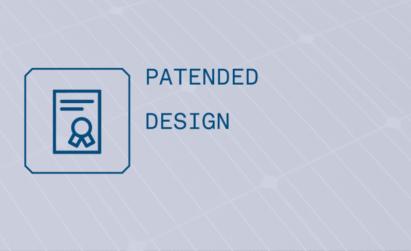 Logo Patentierte Technologie